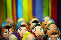 färgrika ägg royaltyfri bild