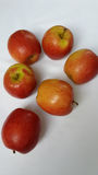 Färgrika äpplen Royaltyfria Bilder