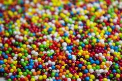 Färgrika ätliga bollar Arkivfoton