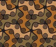 Färgrika Ñ-ircles och virvlar Royaltyfri Bild