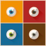 färgrika ögon Royaltyfri Bild