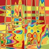 färgrika abstrakt bakgrunder Arkivfoton
