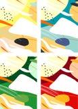 Färgrika abstrakta Digital konster/målningar/bakgrunder/illustrationer arkivfoto