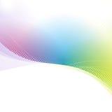 Färgrika abstrakta ljusa linjer bakgrund Royaltyfria Foton