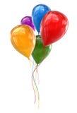 Färgrika ballonger Royaltyfria Foton