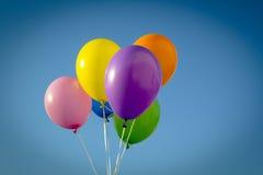Färgrika ballonger arkivfoto