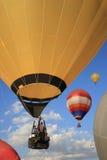 Färgrika ballonger Arkivfoton