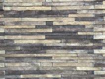 Färgrika band av kalkstenstenväggen Fotobild arkivbild