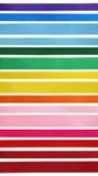 färgrika band för samling Royaltyfri Bild