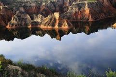 färgrika berg Royaltyfria Foton