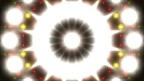 Färgrika blinkande ljus, ögla royaltyfri illustrationer