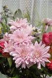 färgrika blommor för bukett arkivbilder