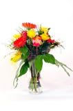 färgrika blommor för buketter Royaltyfri Fotografi