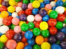 färgrika bollar Arkivbild
