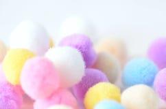 färgrika bollar Royaltyfri Fotografi