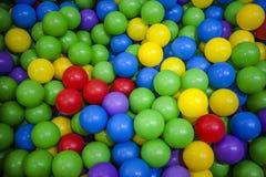 färgrika bollar Fotografering för Bildbyråer