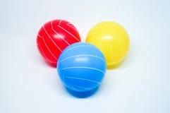 färgrika bollar Arkivfoton