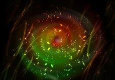 Färgrika bubblor Royaltyfri Foto