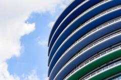 färgrika byggnader Royaltyfri Foto