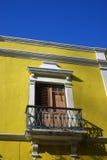 färgrika byggnader fotografering för bildbyråer