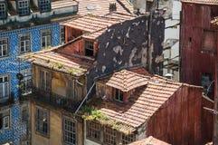 Färgrika byggnader Arkivfoto