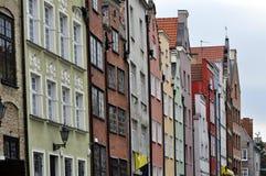Gdansk Polen. Arkivfoto