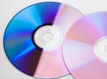 färgrika cds Royaltyfria Bilder