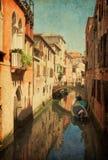 Färgrika Chanel In Venice arkivbilder