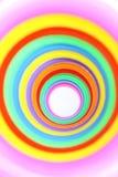 färgrika cirklar Royaltyfri Bild