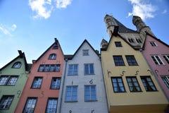 Färgrika Cologne 5 Royaltyfri Fotografi