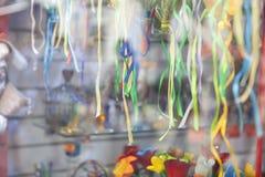 Färgrika dekorativa remsor Arkivfoton