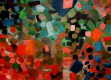 Färgrika drömmar Arkivfoto