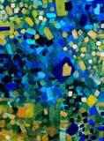 Färgrika drömmar Arkivbilder