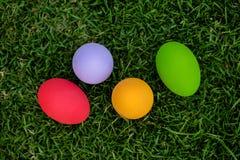 färgrika easter för bakgrund ägg ferie easter bakgrund Royaltyfria Foton