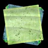 10 färgrika eps-fyrkanter för bakgrund Arkivbild