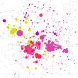 färgrika färgstänk också vektor för coreldrawillustration Royaltyfri Foto