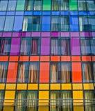 färgrika fönster Royaltyfri Fotografi