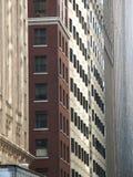 färgrika facades Arkivbilder