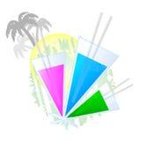 färgrika ferier Arkivbilder