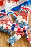 Färgrika fester för 4th Juli Royaltyfria Bilder