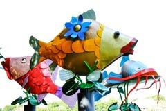 färgrika fiskar Fotografering för Bildbyråer