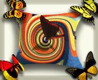 färgrika fjärilar Fotografering för Bildbyråer
