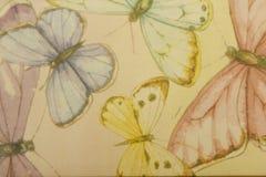 färgrika fjärilar Royaltyfri Bild
