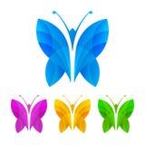 Färgrika fjärilar, illustration Royaltyfria Foton