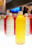 Färgrika flaskor Arkivfoton