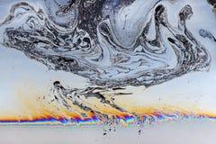 Färgrika former av tvål Arkivbild