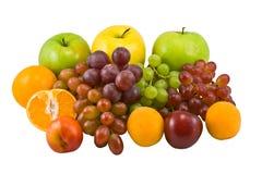 färgrika frukter Fotografering för Bildbyråer