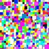 färgrika fyrkanter för bakgrund Arkivbild