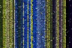 Färgrika fyrkanter och former modell, bakgrund Arkivbilder