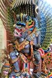 Färgrika Garuda - mytisk varelse för Balinese Arkivfoto